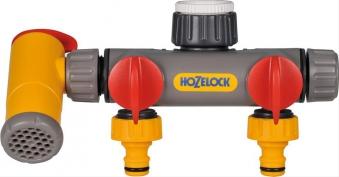 2-Wege-Verteiler Hozelock Flowmax Bild 1