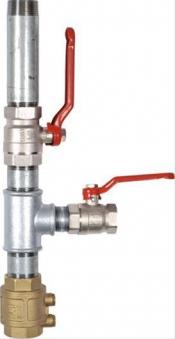 Doppelter Pumpenstock zu Handschwengelp. Bild 1