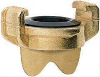 GEKA plus-Blindkupplung MS, 3mm-Bohr. f.Kette,SB Bild 1