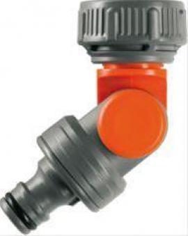 Winkelhahnstück 0998 losefür (G1/2) und (G3/4) Wasserhahn Bild 1