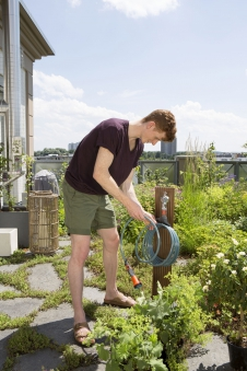 GARDENA city gardening Terrassen-Spiralschlauch 7,5m 18411-20 Bild 2