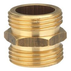 """GARDENA Messing-Gewindenippel AG 33,3mm (G 1"""") 07261-20 Bild 1"""