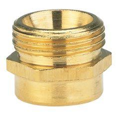 GARDENA Reduzier-Messing-Gewindenippel AG 26,5mm / IG 33,3mm 07264-20 Bild 1