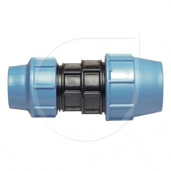 Klemmfitting PN16 Kupplung reduz. für PE-Rohr Ø32x25mm Bild 1