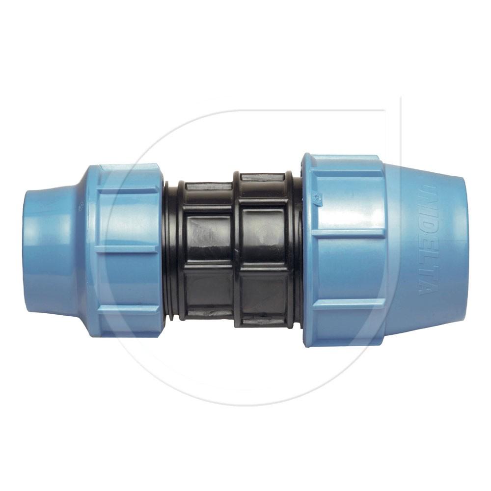 Klemmfitting PN16 Kupplung reduz. für PE-Rohr Ø40x25mm Bild 1