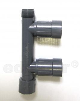 "Rainbird Verteiler RB1201-210 Verschraubung 1""IGx1""AGx1""IG Bild 1"
