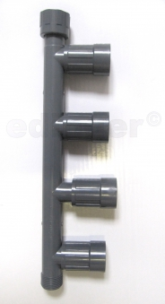 "Rainbird Verteiler RB1201-410 / PVC-Verschraubung 1""IGx1""AGx1""IG Bild 1"
