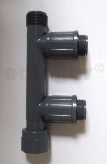"Rainbird Verteiler RB1301-210 Verschraubung 1""IGx1""AGx1""AG Bild 1"