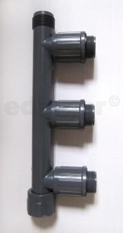 "Rainbird Verteiler RB1301-310 Verschraubung 1""IGx1""AGx1""AG Bild 1"