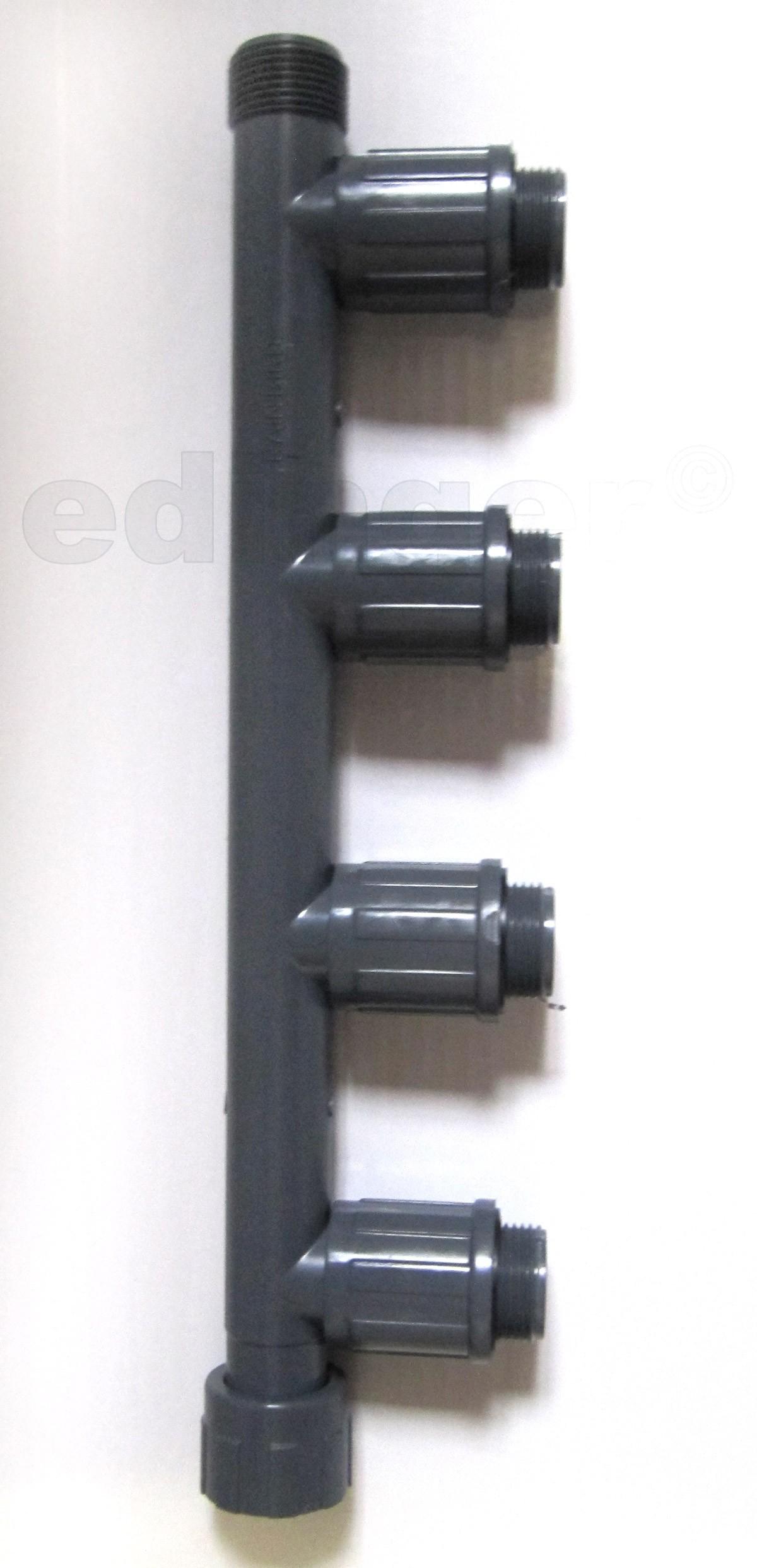 "Rainbird Verteiler RB1301-410 Verschraubung 1""IGx1""AGx1""AG Bild 1"