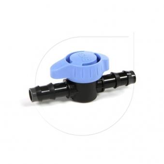 Kugelhahn SF-72 für Micro-Bewässerung bis 4 bar 16mm Bild 1