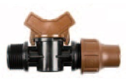 """Rainbird Kugelhahn Lock Quick 3/4"""" AG BF-Valve für Micro Bewässerung Bild 1"""