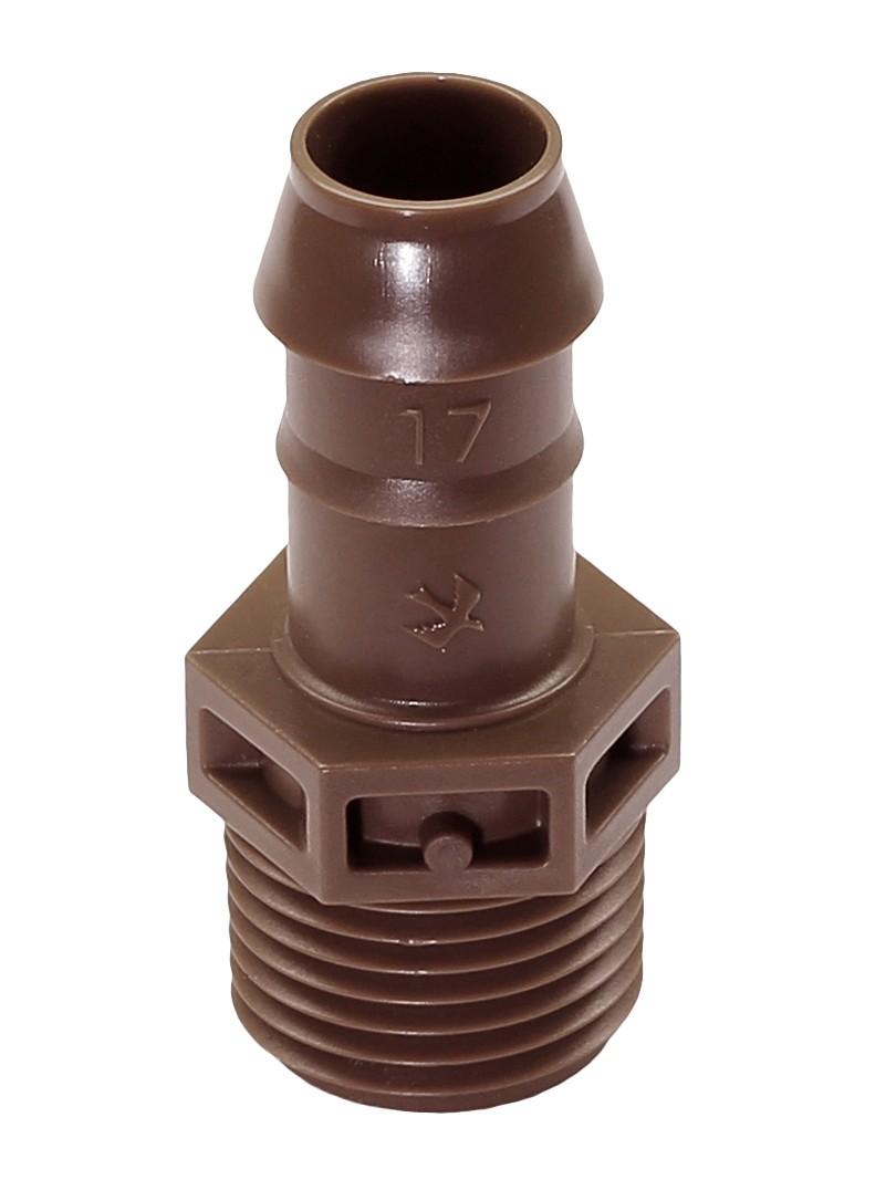"""Rainbird Kupplung 1/2"""" XFF MA 050 für Dripline / Micro Bewässerung Bild 1"""