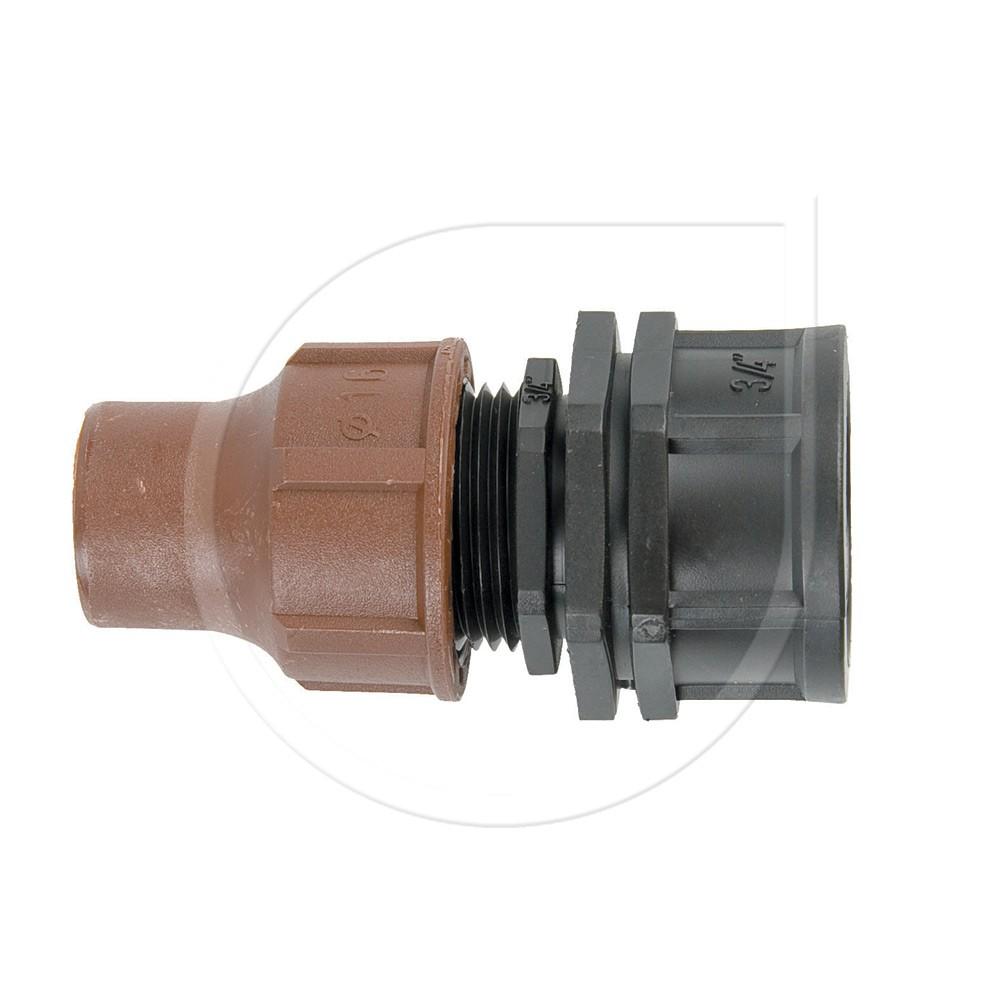 """Rainbird Kupplung Lock Quick 3/4"""" IG BF-62-75 für Micro Bewässserung Bild 1"""