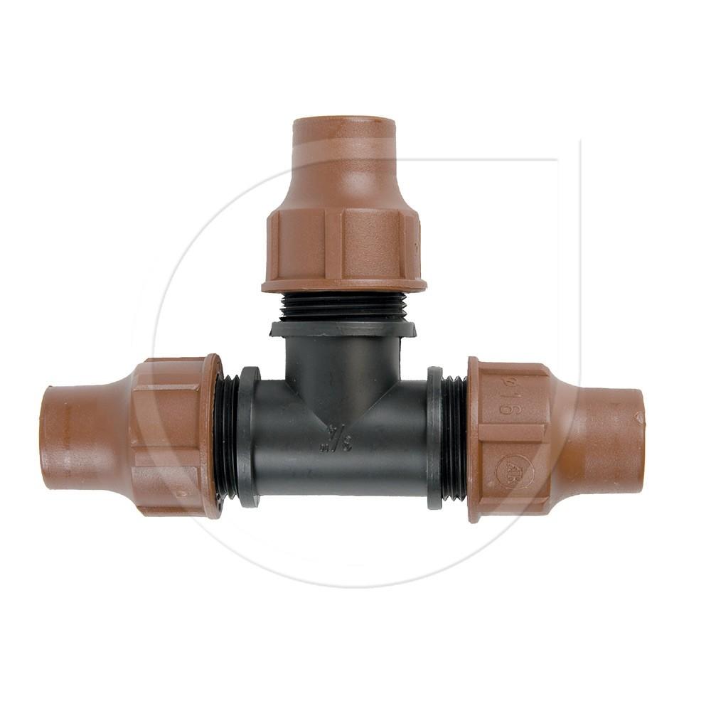 Rainbird T-Stück Lock Quick BF-32 für Dripline / Micro Bewässerung Bild 1