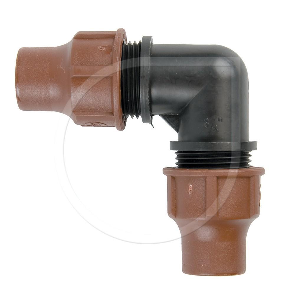 Rainbird Winkel Lock Quick BF-22 für Dripline / Micro Bewässerung Bild 1