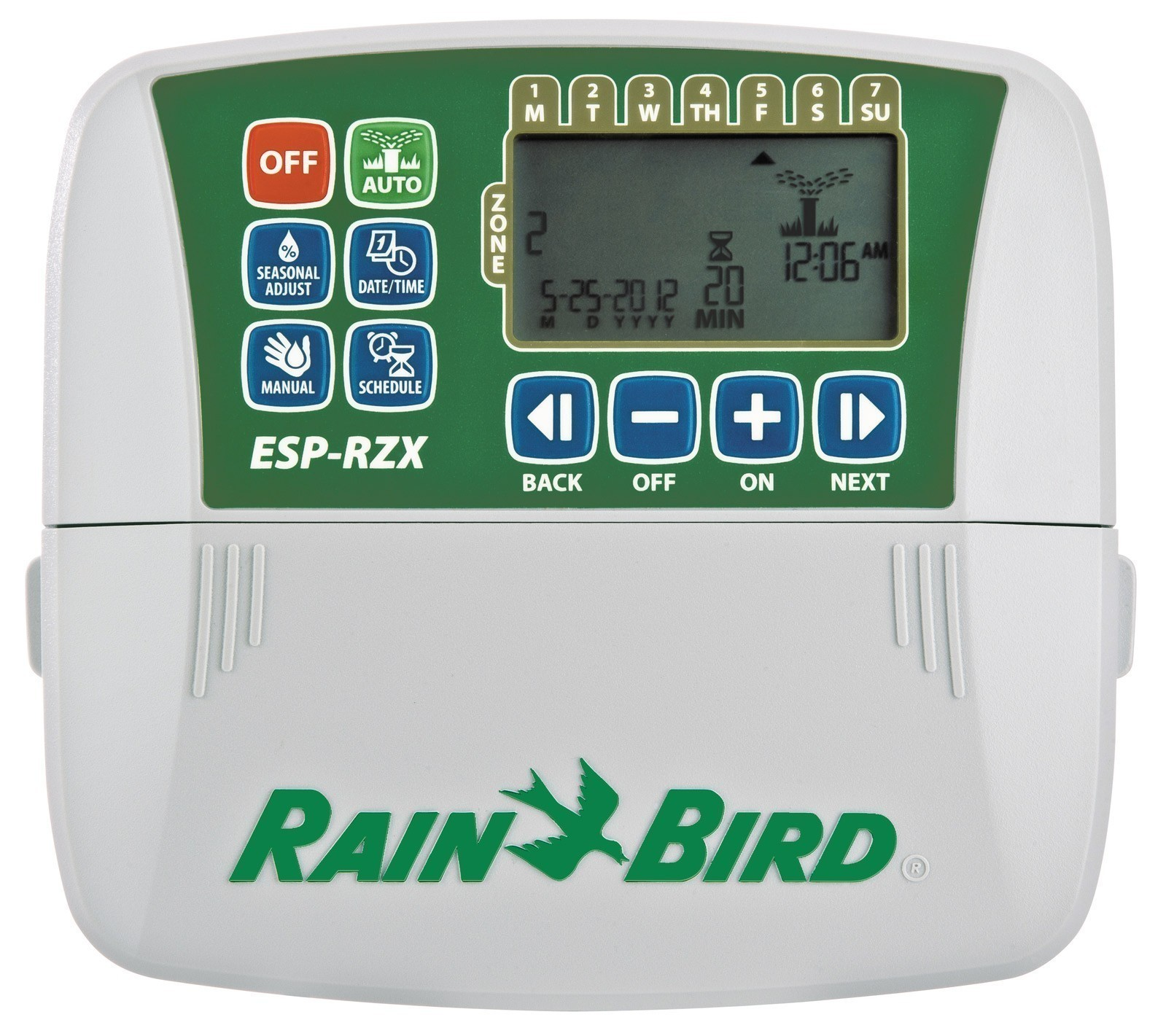 Rainbird Steuergerät ESP-RZX4i 4 Stationen Innenmontage Bild 1