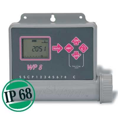 Rainbird Steuergerät WP6 6-Stationen Steuergerät batteriebetrieben Bild 1