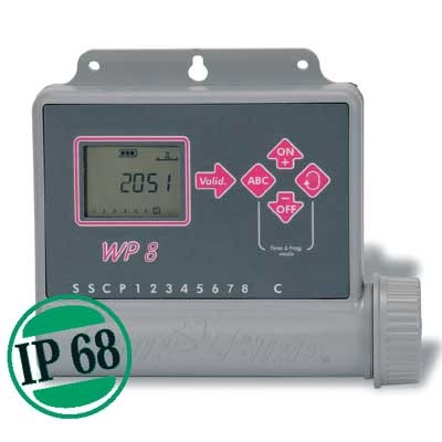 Rainbird Steuergerät WP8 8-Stationen Steuergerät batteriebetrieben Bild 1