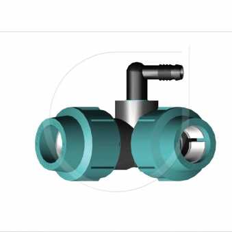 Montagefertiger Fitting Typ RAINFIT / LOC-W25 Bild 1